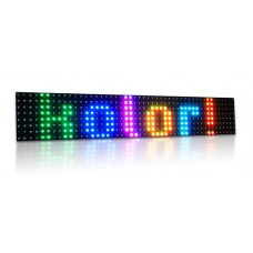 LED panel 15-color R25 (122x23 cm)