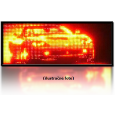 LED panel 1-color GT Hermetic (393x70 cm)