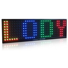 LED panel 15-color R25 (82x23 cm)