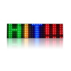 LED panel 7-color R30 (102x28 cm)*