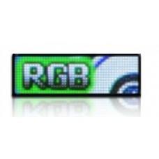 LED obrazovka RGB25 - plnofarebná (124x44 cm)