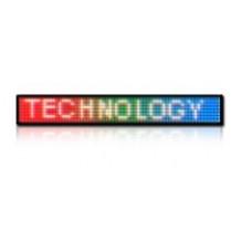 LED obrazovka RGB25 - plnofarebná (164x24 cm)