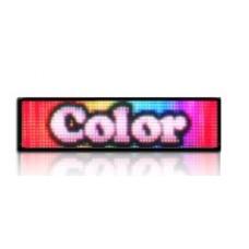 LED obrazovka RGB25 - plnofarebná (164x44 cm)