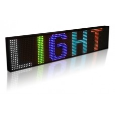 LED panel 15-color R30 (254x54 cm)