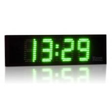 LED hodiny s plexisklom (výška číslic 16 cm)