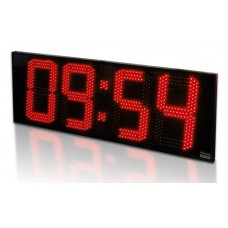 LED hodiny s plexisklom (výška číslic 40 cm)