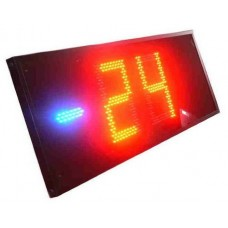 LED teplomer s plexisklom (výška číslic 40 cm)