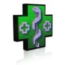 Lekárenský kríž plnofarebný JEDNOSTRANNÝ (80cm)
